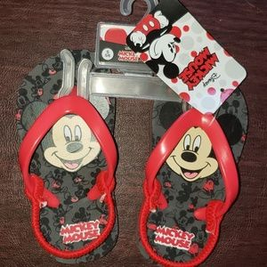 MICKEY MOUSE SANDALS FLIP FLOPS